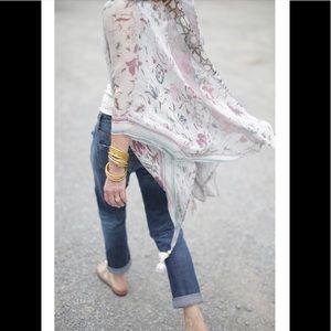 Elizabeth Gillett/Anthropologie Kimono O/S